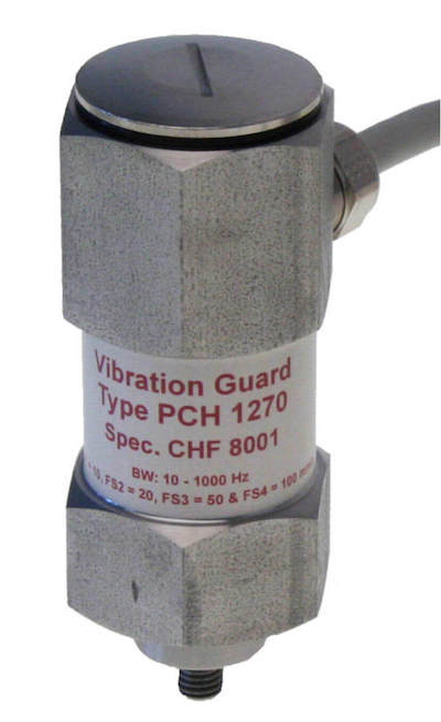 PCH 1272 Compact vibration sensor with 2 relays